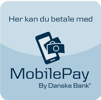 Pay with mobilepay for your transport at Harbirk